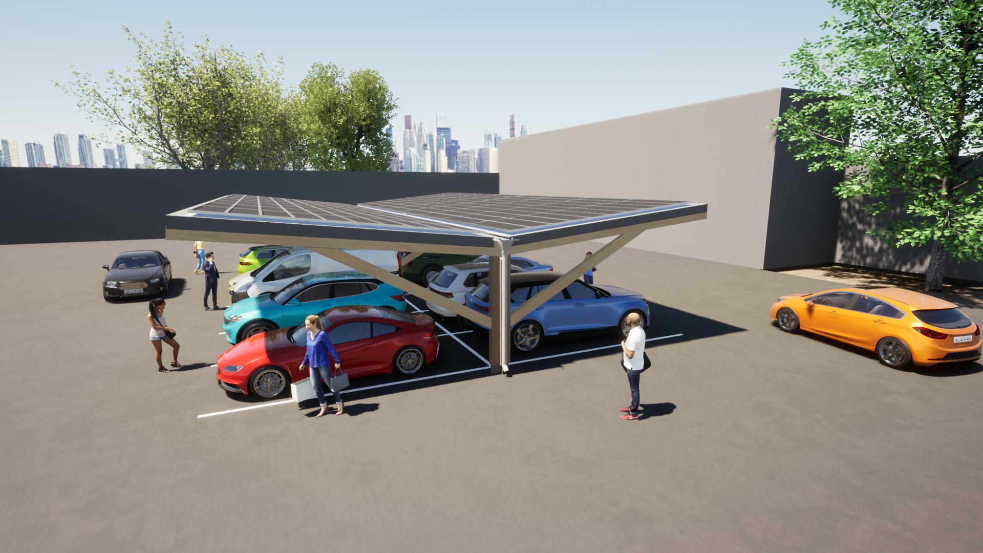 Timber carpark 2