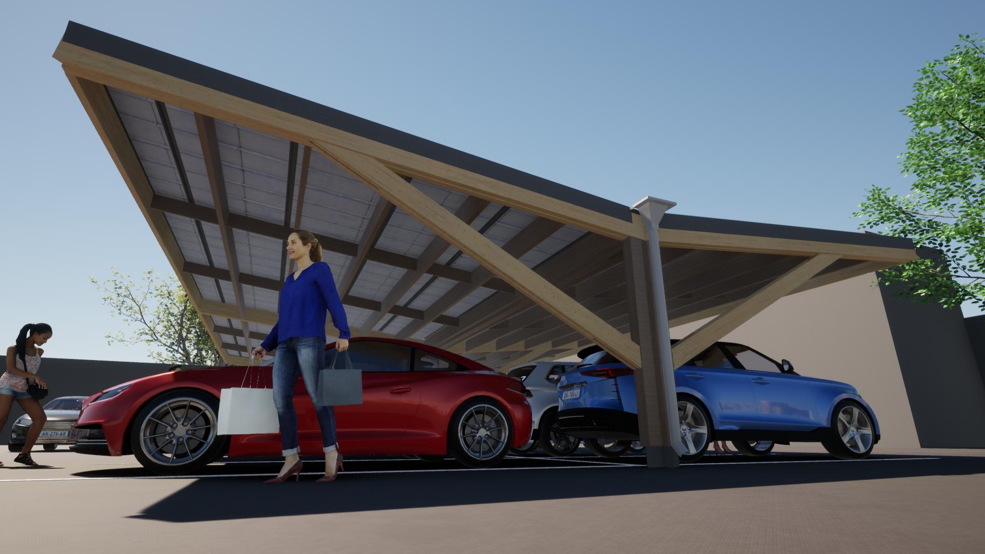 Timber carpark 11