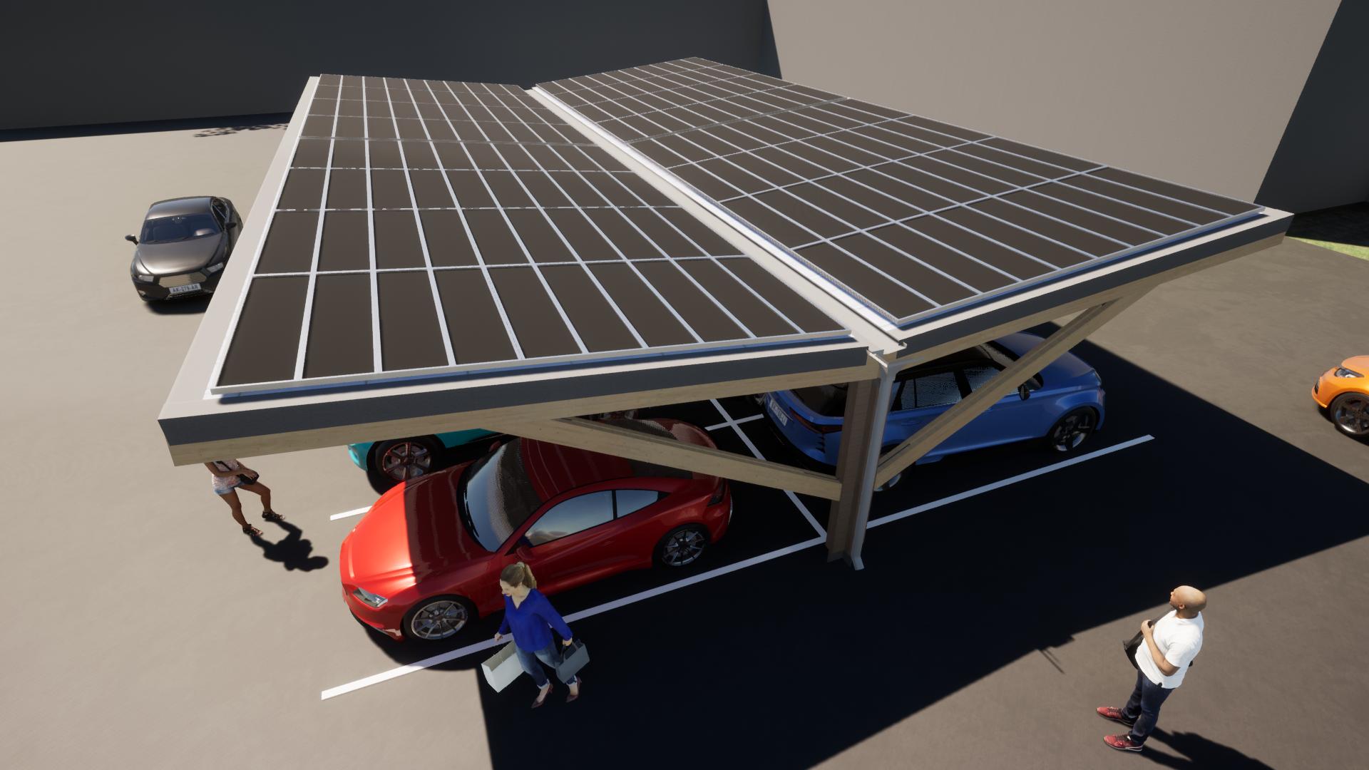Timber carpark 12