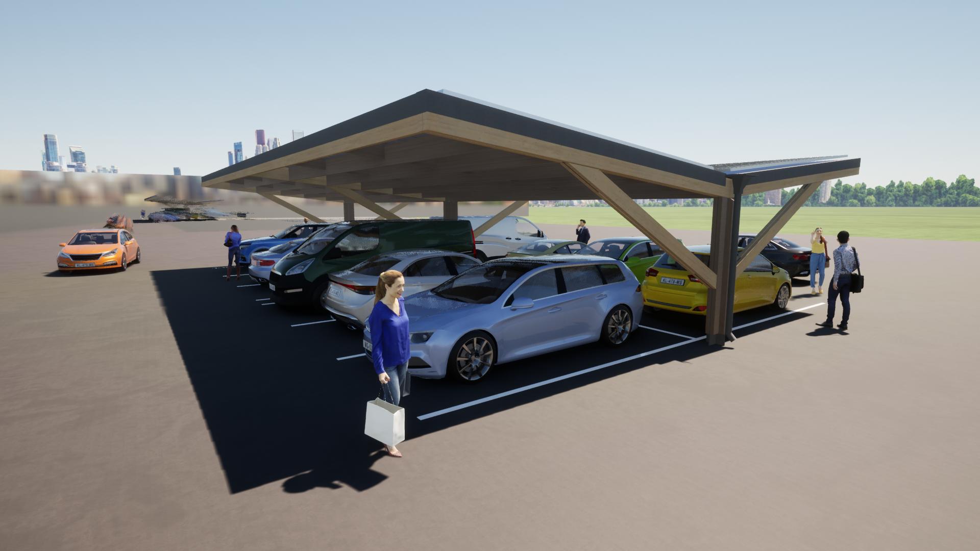 Timber carpark 4